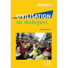 Учебник Civilisation en dialogues niveau débutant Livre + CD