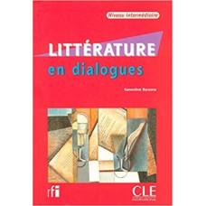 Учебник Littérature en Dialogues Intermédiaire + CD