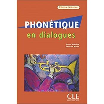 Учебник  Phonetique En dialogues  Debutant Livre + CD