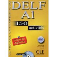 DELF A1, 150 Activites Livre + CD audio