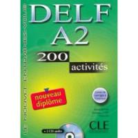 DELF A2, 150 Activites Livre + CD audio