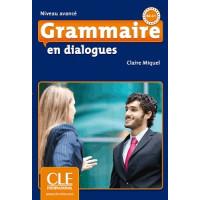 Грамматика Grammaire en dialogues niveau avancé Livre + CD audio