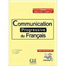 Учебник Communication progressive du français Débutant Complet Livre + CD audio
