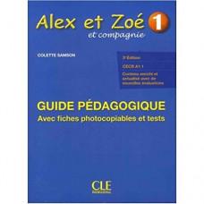 Книга для учителя Alex et Zoe Nouvelle 1 Guide pédagogique