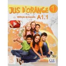 Учебник Jus D'orange 1 (A1.1) Livre + DVD-ROM