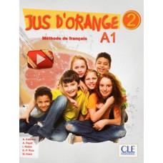 Учебник Jus D'orange 2 (A1) Livre + DVD-ROM