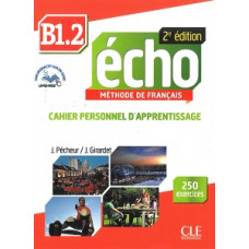 Рабочая тетрадь Echo B1.2 - 2e édition Cahier d'exercices + CD audio + livre-web