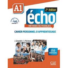 Рабочая тетрадь Echo A1 - 2e édition Cahier d'exercices + CD audio + livre-web