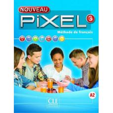 Учебник Pixel Nouveau 3 Livre de l'élève + DVD ROM