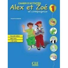Учебник Alex et Zoe Nouvelle 1 Livre de l'élève + Livret de civilisation + CD-ROM
