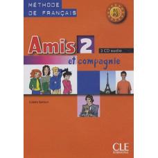 Диски Amis et compagnie 2 CD (3) audio pour la classe