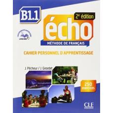 Рабочая тетрадь Echo B1.1 - 2e édition Cahier d'exercices + CD audio + livre-web