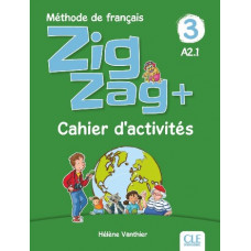 Рабочая тетрадь ZigZag 3 Cahier d'activités