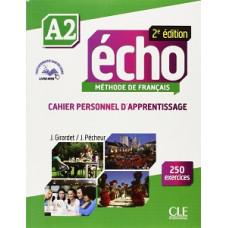 Рабочая тетрадь Echo A2 - 2e édition Cahier d'exercices + CD audio + livre-web