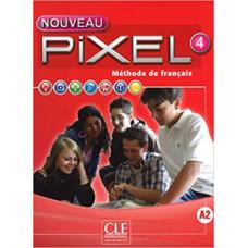 Учебник Pixel Nouveau 4 Livre de l'élève + DVD ROM
