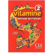 Учебник Vitamine 2  Livre de l`eleve