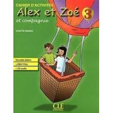 Рабочая тетрадь Alex et Zoe Nouvelle 3 Cahier d'activités + CD audio DELF Prim