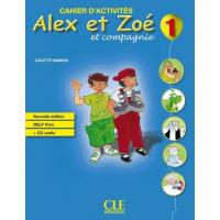 Рабочая тетрадь Alex et Zoe Nouvelle 1 Cahier d'activités + CD audio DELF Prim