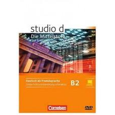 Книга для учителя Studio d B2 Unterrichtsvorbeitung Inteaktiv Auf D-ROM