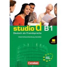Книга для учителя Studio d B1  Unterrichtsvorbeitung Inteaktiv  Auf D-ROM