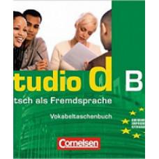 Словарь Studio d B1 Vokabeltaschenbuch