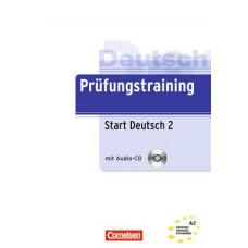 Тесты Prüfungstraining DaF Start Deutsch 2 (A2) Übungsbuch mit CD