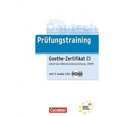 Тесты Prüfungstraining DaF Goethe-Zertifikat Zentrale Mittelstufenprüfung (C1) Übungsbuch mit CDs