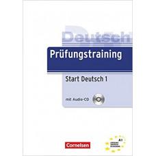 Тесты Prüfungstraining DaF Start Deutsch 1 (A1) Übungsbuch mit CD