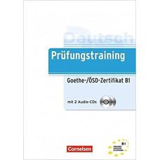 Тесты Prüfungstraining DaF Goethe-/ÖSD-Zertifikat (B1) Übungsbuch mit CDs