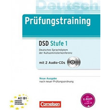 Тесты Prüfungstraining DaF Deutsches Sprachdiplom der Kultusministerkonferenz (DSD) Stufe 1 (A2-B1) Neubearbeitu Übungsbuch mit CDs