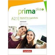 Рабочая тетрадь Prima plus A2/1 Arbeitsbuch mit CD-ROM