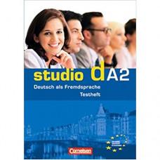 """Тесты Studio d A2 Testvorbereitungsheft und Modelltest """"Start Deutsch 2"""" mit CD"""