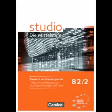 Учебник Studio d B2/2 Unterrichtsvorbereitung mit kopiervorlagen und Tests