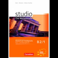 Учебник Studio d B2/1 Kurs- und Übungsbuch mit Lerner-Audio-CD