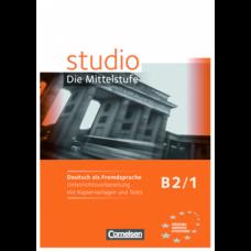 Учебник Studio d B2/1 Unterrichtsvorbereitung mit kopiervorlagen und Tests