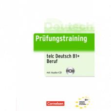 Тесты Prüfungstraining DaF telc-Test (B1)+ Beruf Übungsbuch mit CD