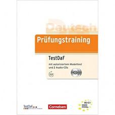 Тесты Prüfungstraining DaF TestDaF (B2-C1) Übungsbuch mit autorisiertem Modelltest und CDs