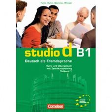 Учебник Studio d B1/1 Kurs- und Übungsbuch mit Lerner-Audio-CD