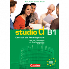 Учебник Studio d B1/2 Kurs- und Übungsbuch mit Lerner-Audio-CD