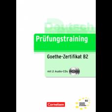 Тесты Prüfungstraining DaF Goethe-Zertifikat (B2) Übungsbuch mit CDs