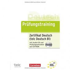 Тесты Prüfungstraining DaF Zertifikat Deutsch / telc Deutsch (B1) Übungsbuch mit CD und CD-ROM