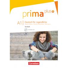 Тесты Prima plus A1 Testheft mit Audio-CD