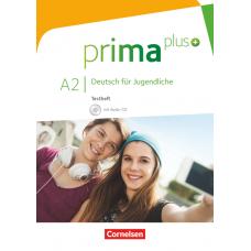 Тесты Prima plus A2 Testheft mit Audio-CD