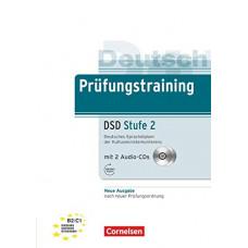 Тесты Prüfungstraining DaF Deutsches Sprachdiplom der Kultusministerkonferenz (DSD) Stufe 2 (B2-C1) Neubearbeitu Übungsbuch mit CDs