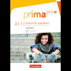 Рабочая тетрадь Prima plus A1/1 Arbeitsbuch mit CD-ROM