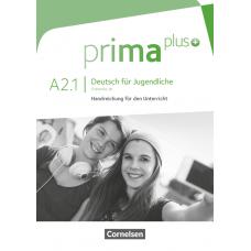 Книга для учителя Prima plus A2/1 Handreichungen für den Unterricht