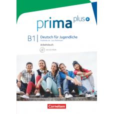 Рабочая тетрадь Prima plus B1 Arbeitsbuch mit CD-ROM