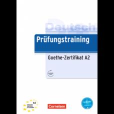 Тесты Prüfungstraining DaF Goethe-Zertifikat (A2) Übungsbuch mit E-Book