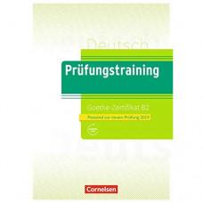 Тесты Prüfungstraining DaF Goethe-Zertifikat (B2) Übungsbuch mit E-Book