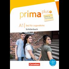 Учебник Prima plus A1 Leben in Deutschland Schülerbuch mit MP3-Download